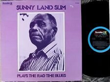 CHICAGO BLUES LP: SUNNYLAND SLIM Plays The Rag Time Blues (w Louis & Dave Myers)