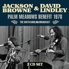 JACKSON BROWNE & DAVID LINDLEY New Sealed 2019 LIVE 1978 CONCERT 2 CD SET