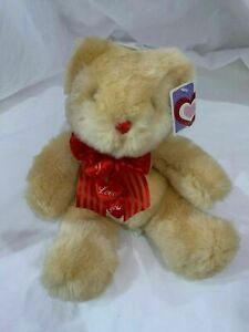 """""""I Love You"""" Teddy Bear With Bow, Cute, Great Christmas Gift, Valentine's, Love"""