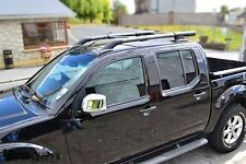 To Fit 2005 - 2016 Nissan Navara D40 Roof Rails Rack Bars 4x4 Accessories