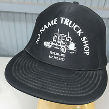 VTG No Name Truck Stop Big Rig Joplin Missouri Snapback Baseball Hat Cap