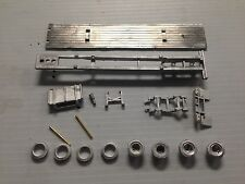 ULRICH COLLECTION HO SCALE 1/87  TANDEM AXLE FLATBED TRAILER ALL METAL KIT