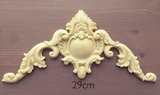 Large Shabby  Pediment Scroll Resin Decoration furniture Moulding