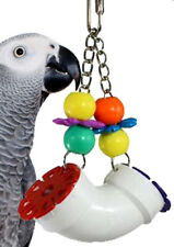 00751 PVC Forager Bird Toy parrot cage toys african grey conure lorie amazon pet