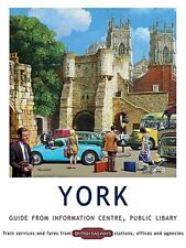 York, Information Centre Guide - Large Metal Sign  300mm x 400mm (og)
