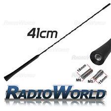 Universal Saab Kia Hyundai Fiat Seat Renault Car Aerial Antenna Replacement 41cm