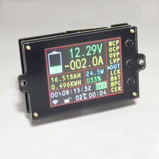 Wireless Battery Monitor Meter DC 120V 300A VOLT AMP AH SOC Remaining Capacity