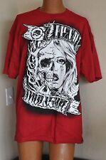 Metal Mulisha Skull / Girl Face Logo T-shirt Sz M Brand New with Tags