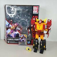 Transformers Autobot Power Of The Prime Rodimus Prime Figure Leader Class w Box