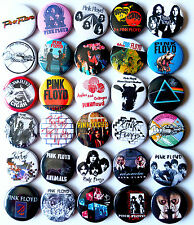 PINK FLOYD Button Badges Pins Dark Side of the Moon The Wall Comfortably Numb