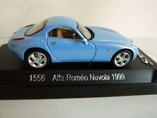 SOLIDO 1556 ALFA ROMEO NUVOLA 1999 BLEU   1/43 TBE NM + BOX