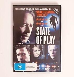 State of Play Movie DVD Region 4 AUS - Action Thriller