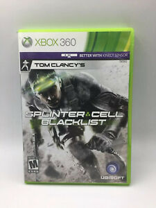 SPLINTER CELL BLACK LIST (Microsoft XBOX 360)
