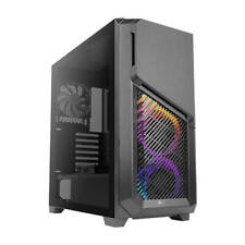 Antec Dp502 Flux RGB Gaming Case With Tempered Glass Window ATX 5 X Fans 3