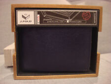 J. FOLD SLIMFOLD OVERTONE WALLET BLUE N01373/23 - BRAND NEW - NWT