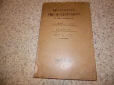1931.Cellules photo électriques et applications.Zworykin