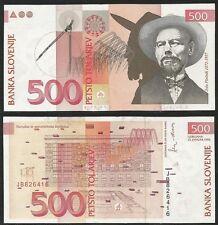 SLOVENIA - 500 Tolarjev Pick 16a  UNC-