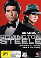 Remington Steele : Season 1 (DVD, 6-Disc) Pierce Brosnan [Region 4] NEW/SEALED