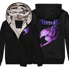 Fairy Tail Women Men Kids Jacket Coat Cosplay Zipper Sweater Sweatshirt Hoodie