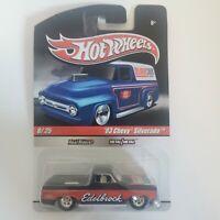 Hot Wheels '83 Chevy Silverado Real Riders Edelbrock 1:64 Die Cast