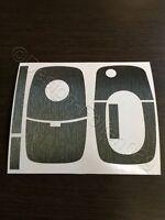 Anthrazit Brush Dekor Schlüssel Folie Skoda Bora VW Roomster RS Superb Fabia uvm