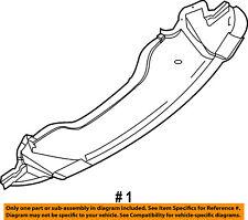 CHRYSLER OEM Splash Shield-Underbody Under Engine Cover 4806104AE