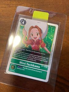 Mimi Tachikawa BT1-089 R - Rare - Ver 1.0 - Digimon TCG - NM