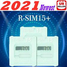 2020 R-Sim15+ Nano Unlock Rsim Card for iPhone 12 11 Pro Xs Max Xr X 8 7 6s Lot