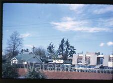 1960s kodachrome Photo slide car automobile in parking lot