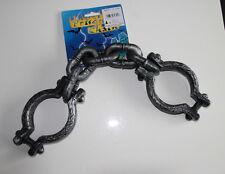* Ohrringe Handschellen Fasching Karneval Kostüm Polizist Polizei Polizistin