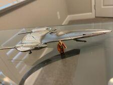 Star Wars Action Fleet Episode 1 Naboo Royal Starship W/ Ric Olié (No Stand)