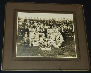 1910-1915 -  PLESSISVILLE, QC, CANADA - BASEBALL TEAM - CABINET PHOTO - ORIGINAL