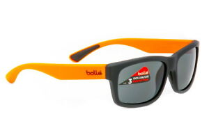 Bolle Daemon Sunglasses Kid's Black/OrangeTNS 11981 - Authorized Dealer