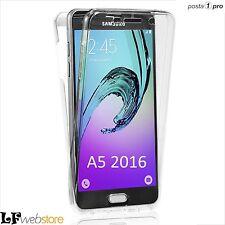"360"" Ultra Slim Cover Custodia Samsung Galaxy A5 2016 trasparente"