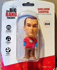 8GB Flash Drive - The Big Bang Theory Sheldon Cooper Funko Tyme Machines