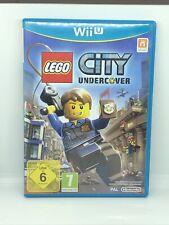 Lego City Undercover Nintendo Wii U UK PAL juego ** GRATIS UK FRANQUEO **