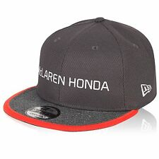 McLaren Honda F1 Official Adults Team Flatbrim cap 9Fifty - 2017 - Size S/M