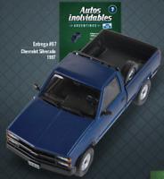 Chevrolet Silverado 1997 Rare Argentina Diecast Scale 1:43 New With Magazine
