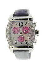 Charriol Columbus Diamond Chronograph Stainless Steel Watch 060T