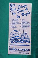 San Diego Bay Ferry - Harbor Excursion - Coronado - Brochure