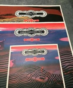 """Thom Yorke Harrowdown Hill 12"""" and 7"""" singles together with 12"""" Analyse all mint"""