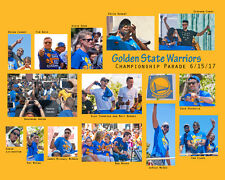 Golden State WARRIORS 2017 Championship parade photo collage (16x20), by photog