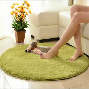Non-Slip Home Decor Soft Bath Bedroom Floor Shower Yoga Plush Round Mat