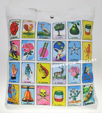 Loteria Tote Bag Purse Tote Shoulder bag Mexican Bingo REUSABLE CANVAS BAG