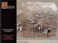 PEGASUS 7199 WWI French Army 1917-18 1/72 Scale 40 Plastic Figures FREE SHIP
