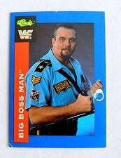 The Big Boss Man HOF WWF Classic Trading Card wrestlers wrestling WWE