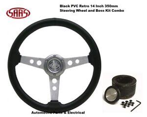 SAAS Steering Wheel & Boss Kit Suit Toy Corolla KE30 KE36 KE55 KE70 1974 - 1980