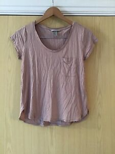 H&M PINK LADIES TSHIRT SIZE SMALL