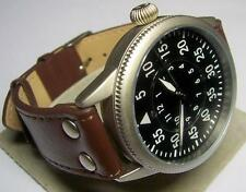 Nuevo facsímil B-Uhr beobachtungsuhr Wehrmacht militar fuerza aérea mecánicamente