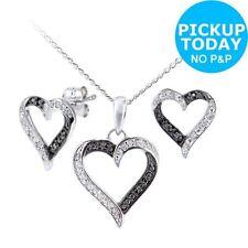 Excellent Black Fine Diamond Necklaces & Pendants